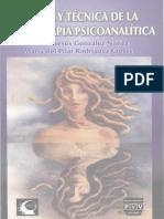 Teoria y tecnica de la Psicoterapia Psicoanalitica - Jose de Jesus Gonzalez Nunez (1).pdf