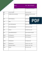 2G Ericsson - NSN Parameter Comparison