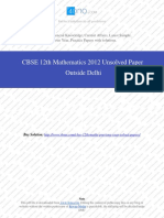 Mathematics 2012 Unsolved Paper Outside Delhi.pdf