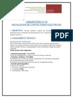 Contactores Electricos (Laboratorio Maquinas Electricas 2)