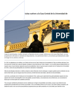 Cine en Casa Central de la Universidad de Chile