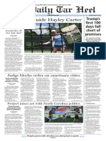 The Daily Tar Heel for April 27, 2017