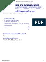 Basic Electronic Circuit Design _ Diy Electronic Circuit - Part 15