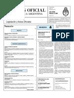Boletin Oficial 19-07-10 - Primera Seccion