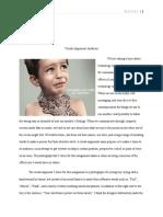 visual argument paper