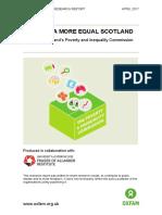 Building a More Equal Scotland