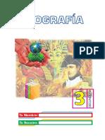 LIBRO DE GEOGRAFÍA 3° SEC
