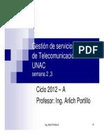 Gestion de Redes de Telecomunicaciones Semana 3 - UNAC [Modo de Compatibilidad]11