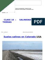 Clase 10 Salinidad de Tierras
