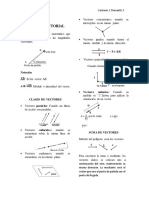 Analsis Vectorial Introduccion