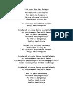 Lirik lagu.docx