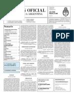 Boletin Oficial 21-07-10 - Segunda Seccion