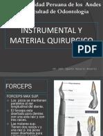 5ta Clase Instumental Quirurgico
