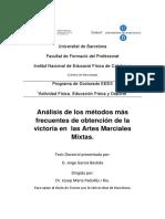 Análisis de los métodos más  frecuentes de obtención de la  victoria en  las Artes Marciales  Mixtas.pdf