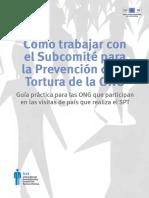 Cómo Trabajar Con El Subcomité Para La Prevención de La Torutra