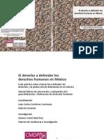 Derecho a defender los dh en Mx - 2011.pdf