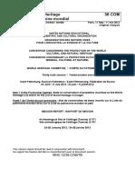RAPPORT DE LA MISSION CONJOINTE DE SUIVI REACTIF CENTRE DU PATRIMOINE MONDIAL - ICOMOS SITE ARCHEOLOGIQUE DE CARTHAGE (TUNISIE)