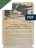 Cena Vocal Com Fundo Visual de Cruzeiro Seixas