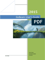 GoBeam User Guide