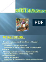 HRM- Sustainability Management - 2016-2018- PPT I - Introduction and Manpower Planning