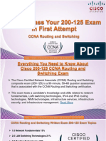 Cisco 200-125 CCNA Routing and Switching Practice Exam