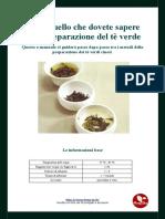 Feng Cha Manuale Preparazione Te Verde