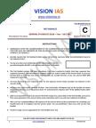 18. Vision IAS CSP 2016 Test 18  Q.pdf