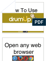 How to Discover Daily Fresh Contents Using DrumUp_JienneDR_Alpha Sunny Ace