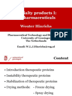 6. Specialty Products 1. Biopharmaceuticals