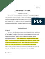 comprehensive case study
