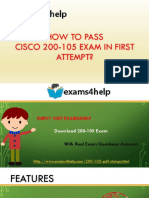 Latest 200-105 PDF Dumps with 200-105 real exam questions answers