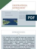 GEOESTRATEGIA - ESTRECHOS