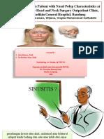 Chronic Rhinosinusitis Patient With Nasal Polyp Characteristics At