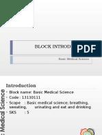 Block Introduction