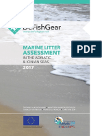 Marine litter assessment in the Adriatic and Ionian Seas