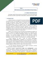 Introduccion Teorías y Caracteristicas de la Capacitacion Intelectual
