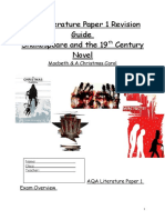 AQA Literature Paper 1 Revision Guide Completed