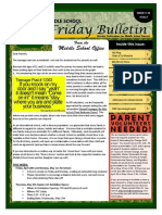 MS Parent Bulletin (Week of May 1 to 5)
