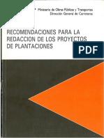 PLANTACIONES - MOPT