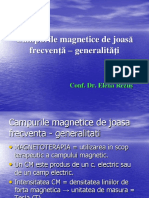 Campurile Magnetice de Joasa Frecventa