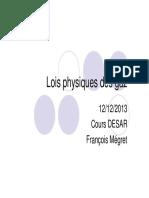 Lois Physique Des Gaz Dr Me Gret