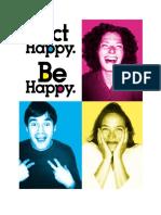 Act Happy Be Happy