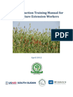 Crop Production Training Manual