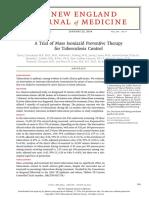 Isoniazid Tuberculosis