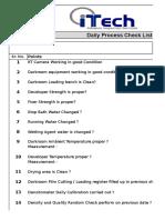 PRD F 04 Daily Checklist