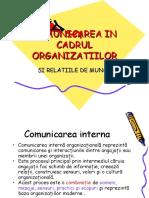 Comunicarea in Cadrul Organizatiilor (1)