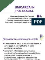 Comunicarea in Campul Social