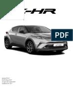 Listino Prezzi Toyota C-HR 2017 Aprile
