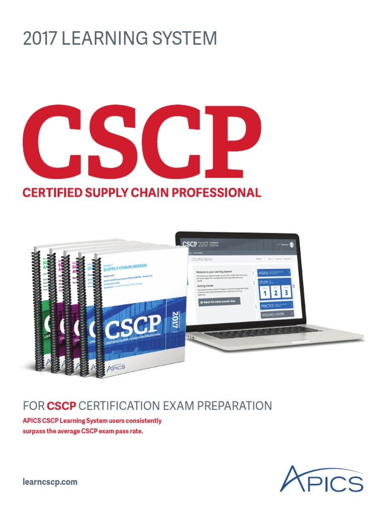 2017 Cscp Ls Brochure Supply Chain Professional Certification
