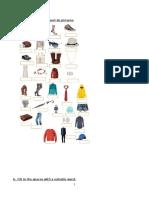 Test Unit 1 Fashion & Clothes